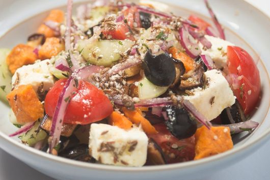 Greek Salad - But Not as We Know It!