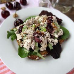 Cherry Poppy Seed Chicken Salad