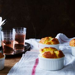 Cheese Soufflé With Cream