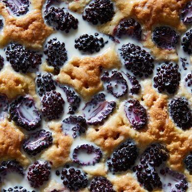 A Pudding-Soft, Berry-Studded Dessert to End Your Cake vs. Pie Debates