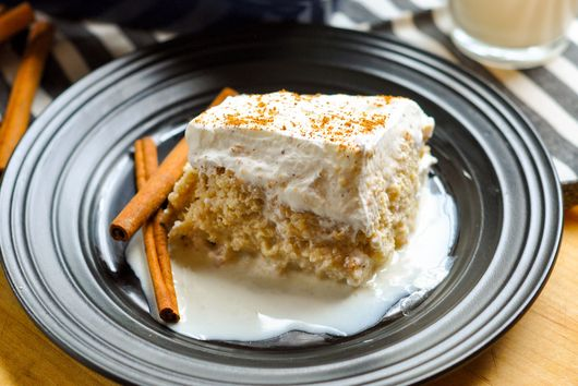 Egg Nog Tres Leches