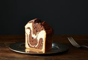 The New (Modern) Marble Cake is Made with Olive Oil