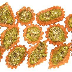 Avocado Cream Tartlets