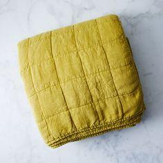 Simple Linen Quilt