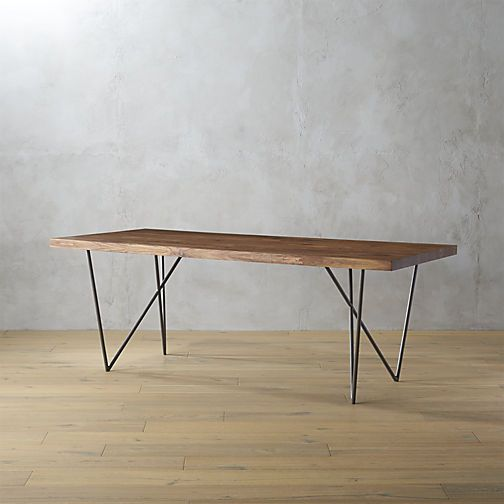 The Best Size and Shape for a Dining Table amp 7 We Love : 57b3e437 b894 49c9 a52a 3de371de77d1 dylan 36x80 dining table 1 from food52.com size 504 x 504 jpeg 23kB