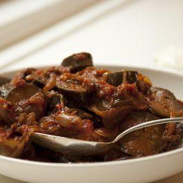 Purnima Garg's Eggplant and Tomato Curry