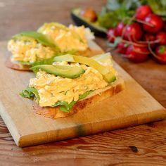 Sriracha Egg Salad Sandwich