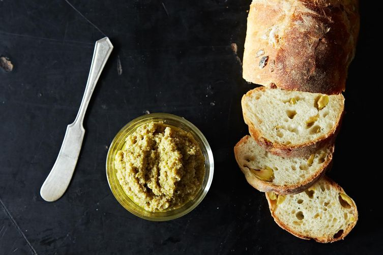 John Besh's Green Olive Tapenade by Merrill Stubbs