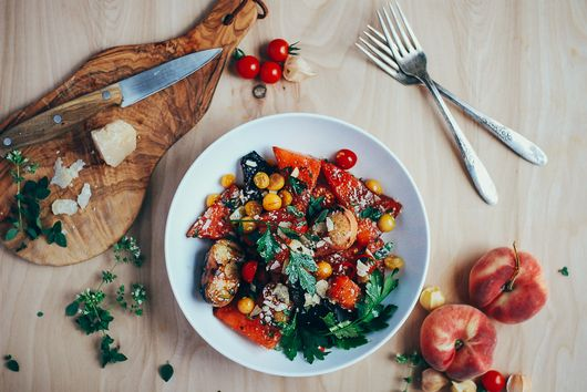 10 Fruity Summer Salads That Aren't Fruit Salad