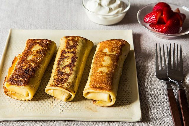 Cheese Blintzes