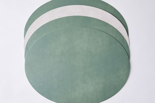 Sturdy Cotton Fiber Reversible Placemats (Set of 4)