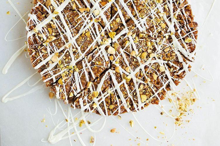 Pistachio Honey Bars