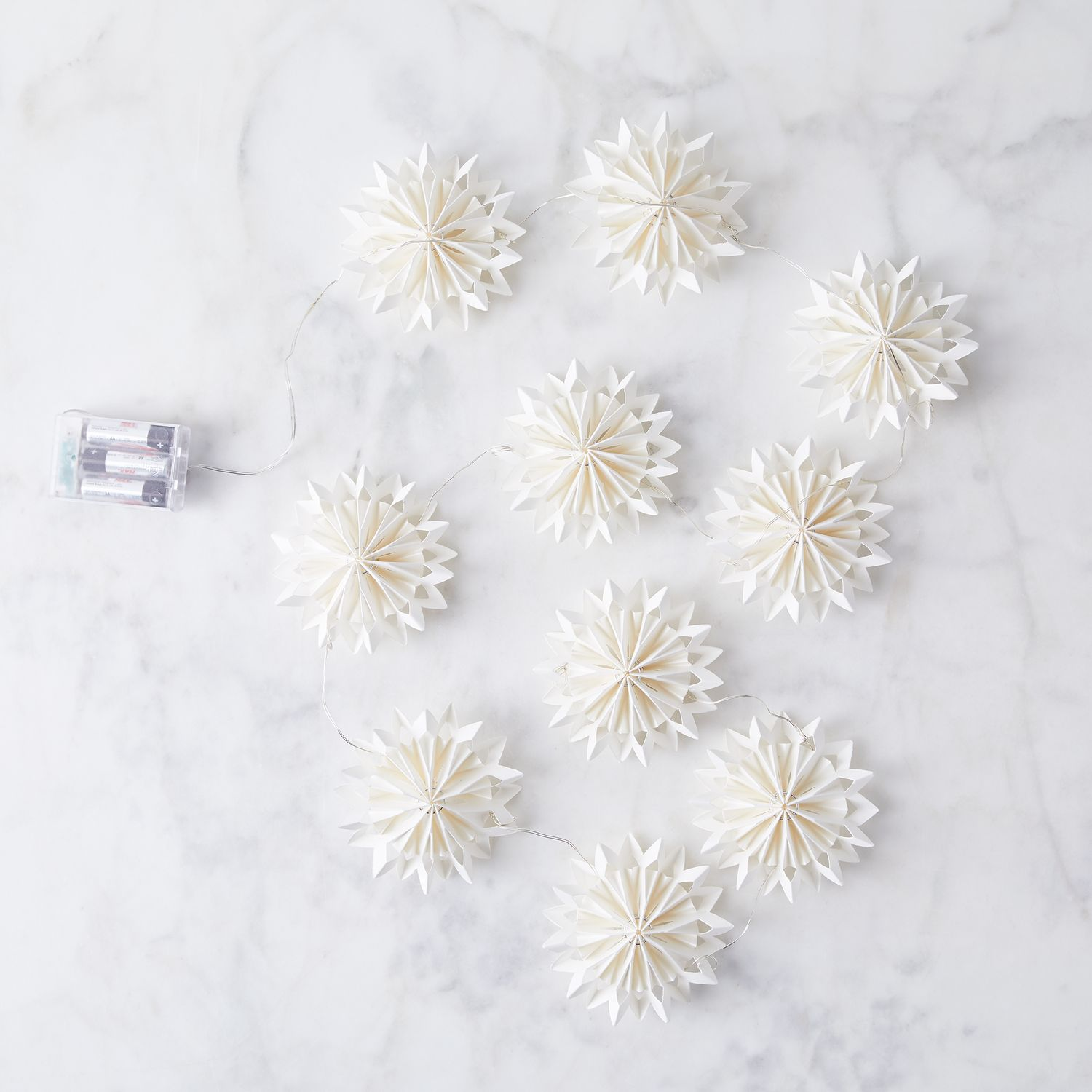 cody foster paper snowflake string lights  u0026 christmas ornaments on food52