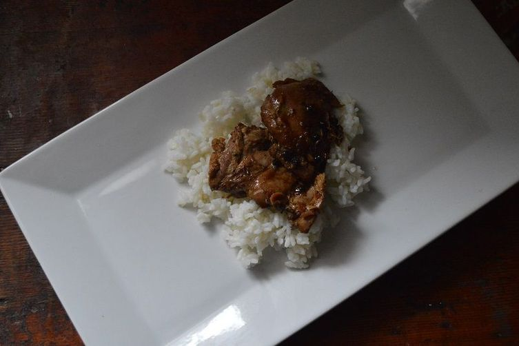 Chicken Adobo with Rice