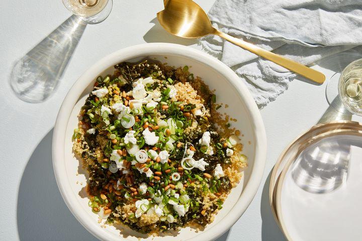 One-Pot Kale & Quinoa Pilaf