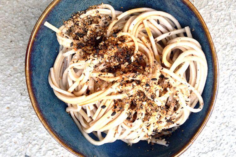 Gomasio & Avocado Soba Noodles