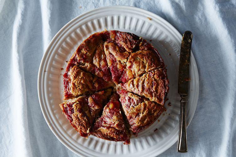 Rye & Rhubarb Anytime Cake