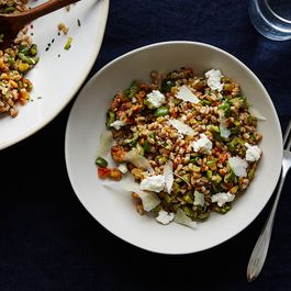 Heidi Swanson's Mostly Olive Salad, With Some Farro