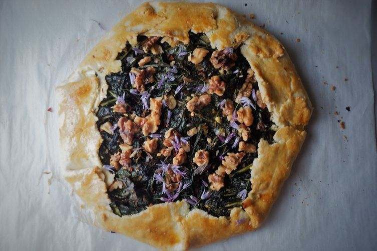 Green and Ricotta Galette