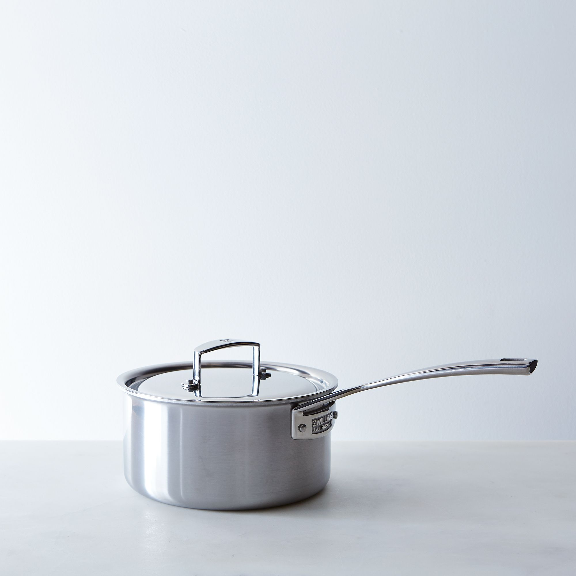 Zwilling Aurora 5-ply Stainless Steel Saucepan With Lid 3 Qt