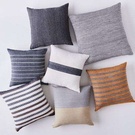 Handwoven Ethiopian Cotton Pillows