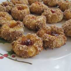 Spicy Cheddar Thumbprints
