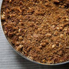 Pear-Filled Cowboy Coffee Cake