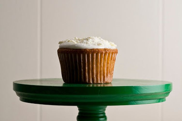 White Chocolate, Honey, and Chamomile Cupcakes Recipe on ...