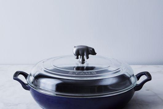 Food52 x Staub Piglet Glass-Lidded Braiser, 3.5QT