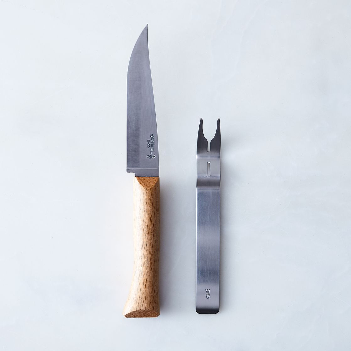opinel ultimate french cheese knife set on food52