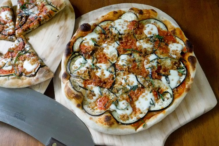 Eggplant Parmesan Pizza Recipe on Food52
