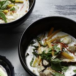 Martha Stewart's Slow-Cooker Tom Kha Gai