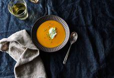 Hot-Honey Butternut Squash Soup