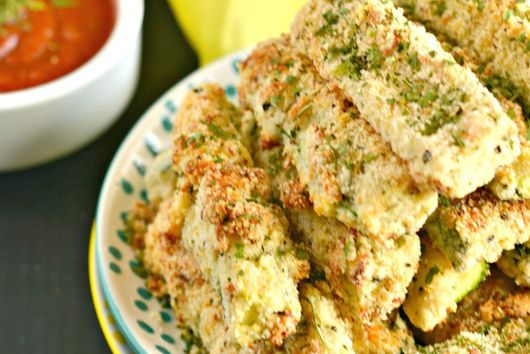 Baked Zucchini Parmesan Fries