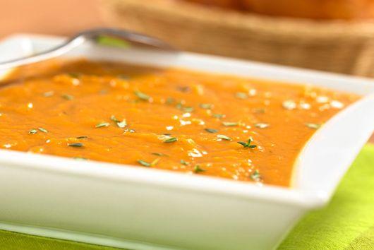 Orange-Ginger Sweet Potato Soup