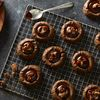Vegan Dark Chocolate-Gingerbread Thumbprint Cookies