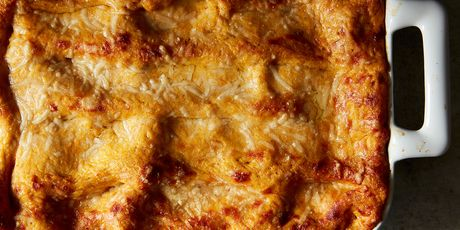 The kale and Italian sausage lasagna that's practically an ode to fall