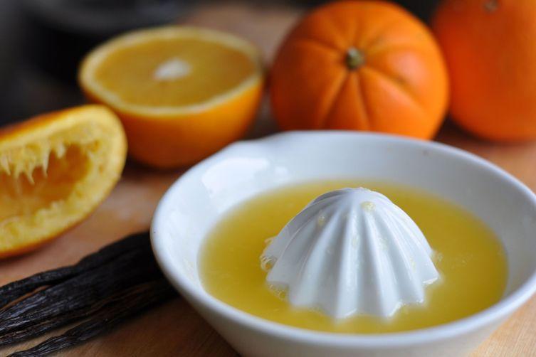 Ginger orange pumpkin seeds