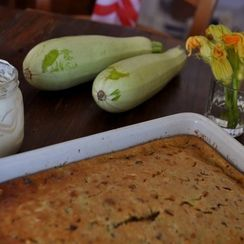 Perfect Zucchini Bread with Honeyed Ricotta