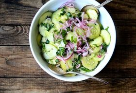 The Secret to a Not-Bland Cucumber Salad