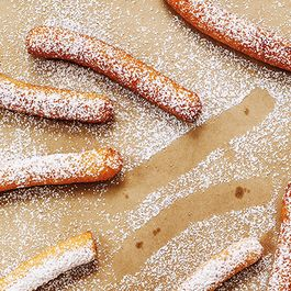 Breakfast Churros with Cinnamon Sugar