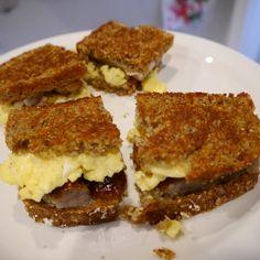 """Breakfast """"Paddy"""" Melts"""