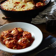 Baked Ricotta Gnudi with Vodka Sauce