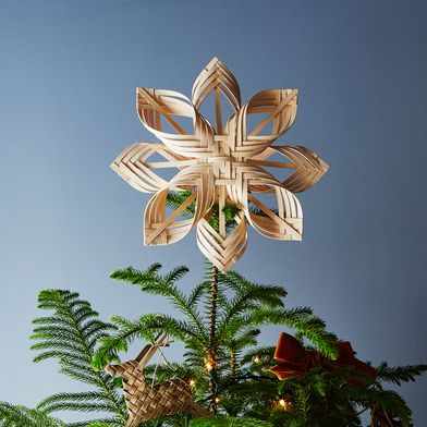 Woven Star Tree Topper
