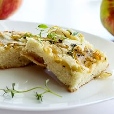 Autumn Harvest Caramelized Onion Apple Cornbread