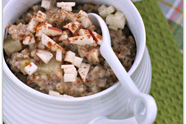 As American as Apple Pie Oatmeal