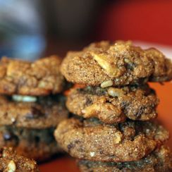 Wheat Bran Chocolate Chip Cookies