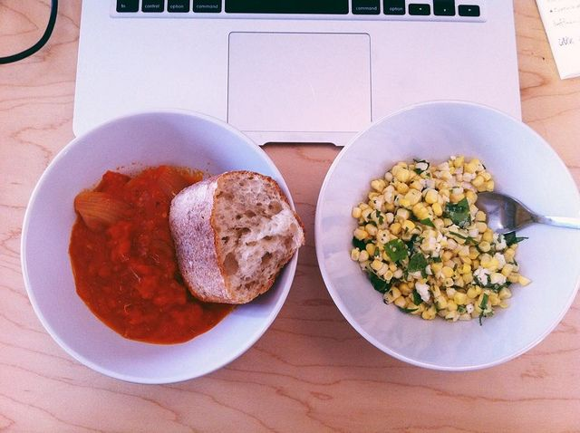 Not Sad Desk Lunch from Food52