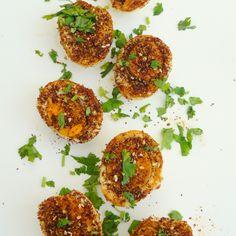 Baid Mutajjan – Middle Eastern Fried Hard Boiled Eggs