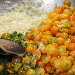 Sun Gold Tomato Pasta